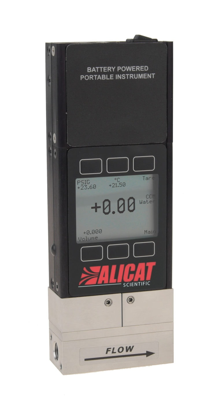 Alicat LB-series portable liquid flow meter