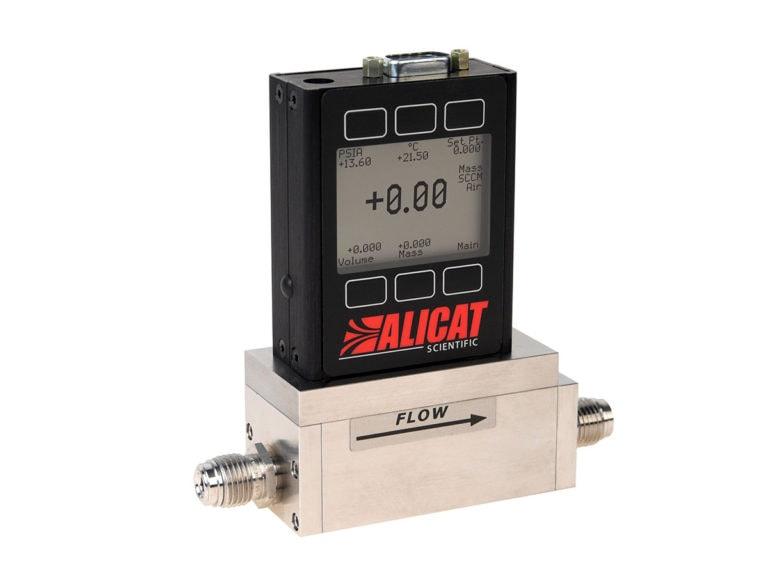 Alicat MCE gas mass flow controller