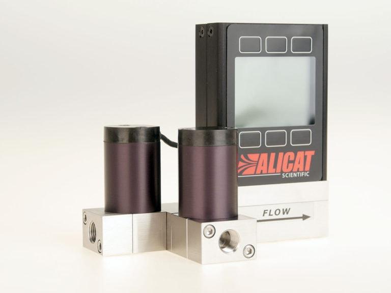 Alicat MCT stream-switching mass flow controller