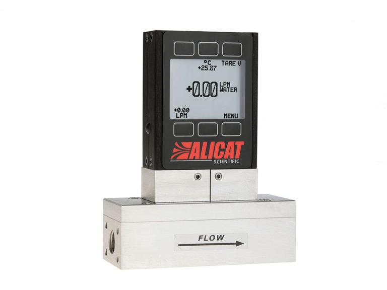 Alicat L-series liquid flow meter