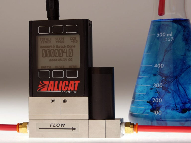 Alicat LC liquid flow controller with Precision Dispensing Package