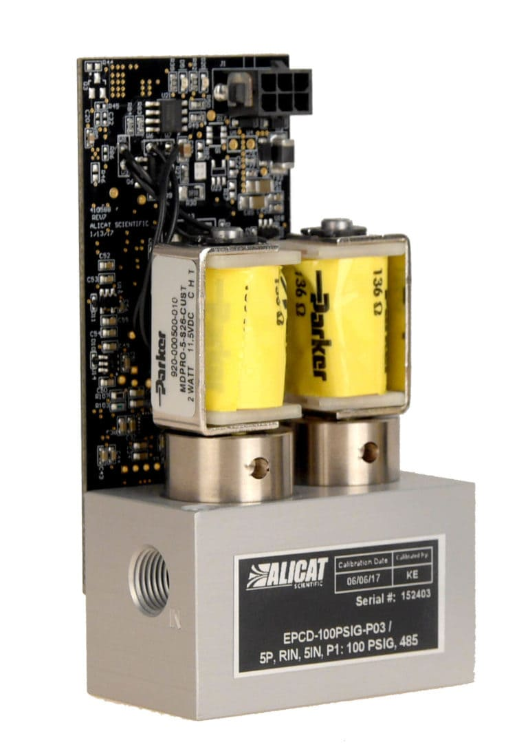 Alicat EPCD dua-valve electronic pressure controller for OEMs
