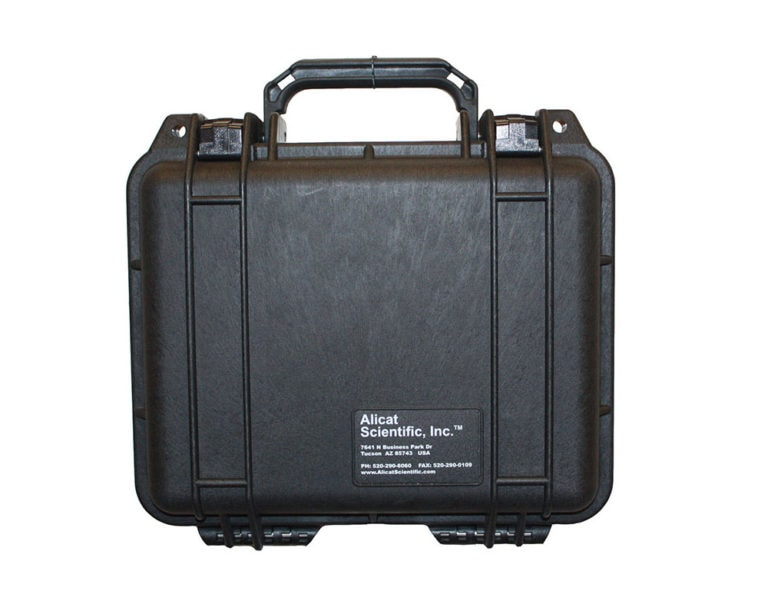 Industrial carrying case (PCASE) for Alicat flow and pressure instruments